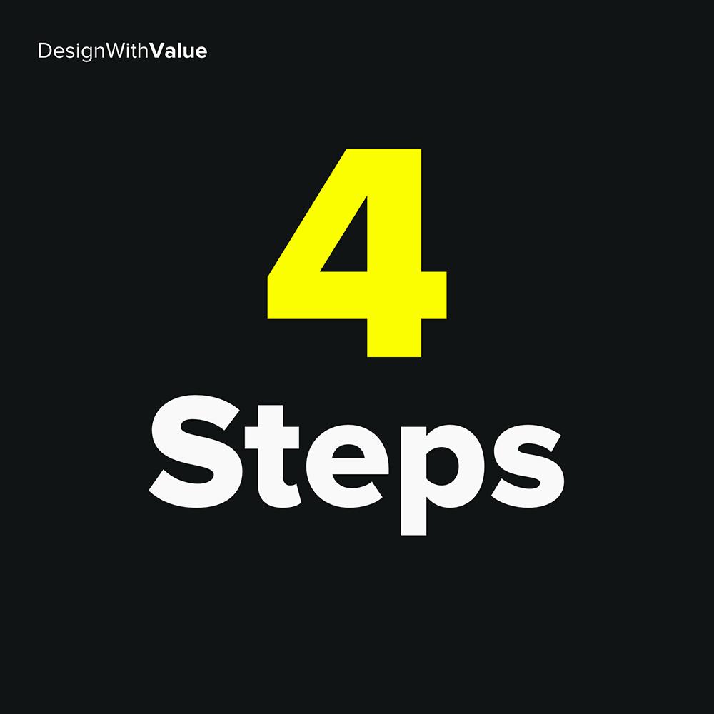 4 steps: