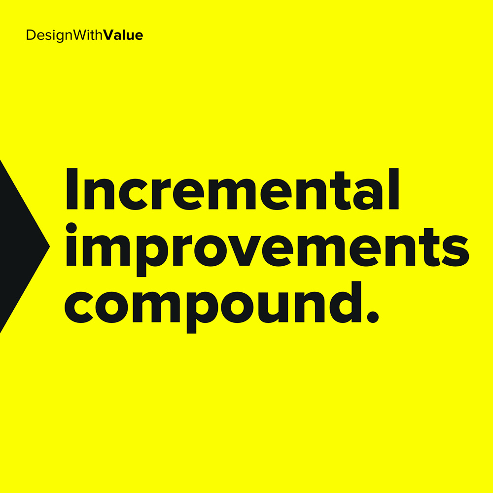 incremental improvements compound