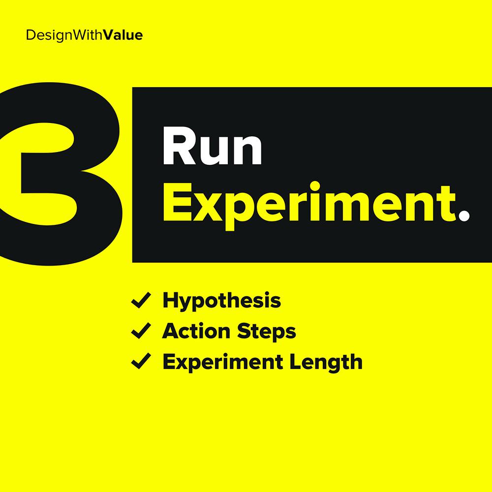 3. run experiment