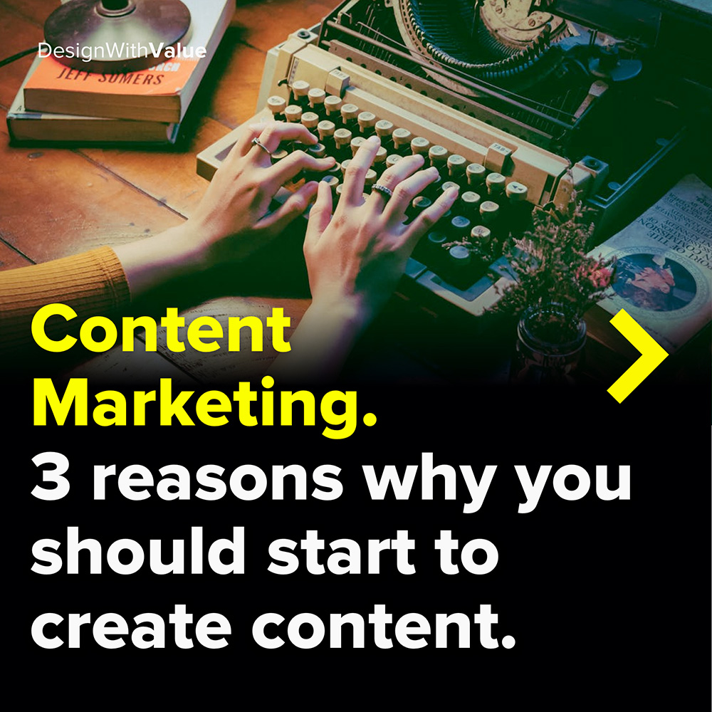 content marketing. 3 reasons why you should start content marketing today