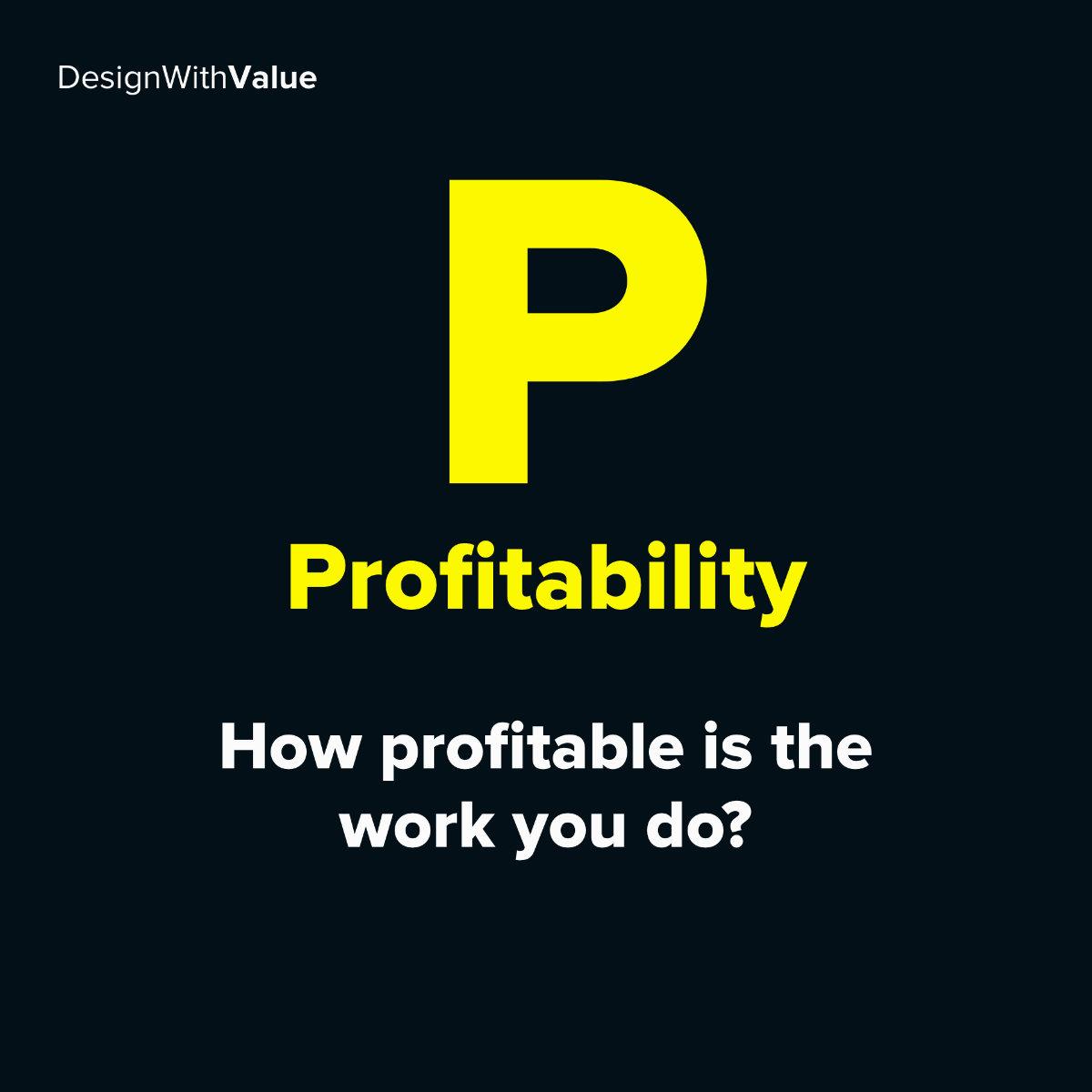 P = Profitability