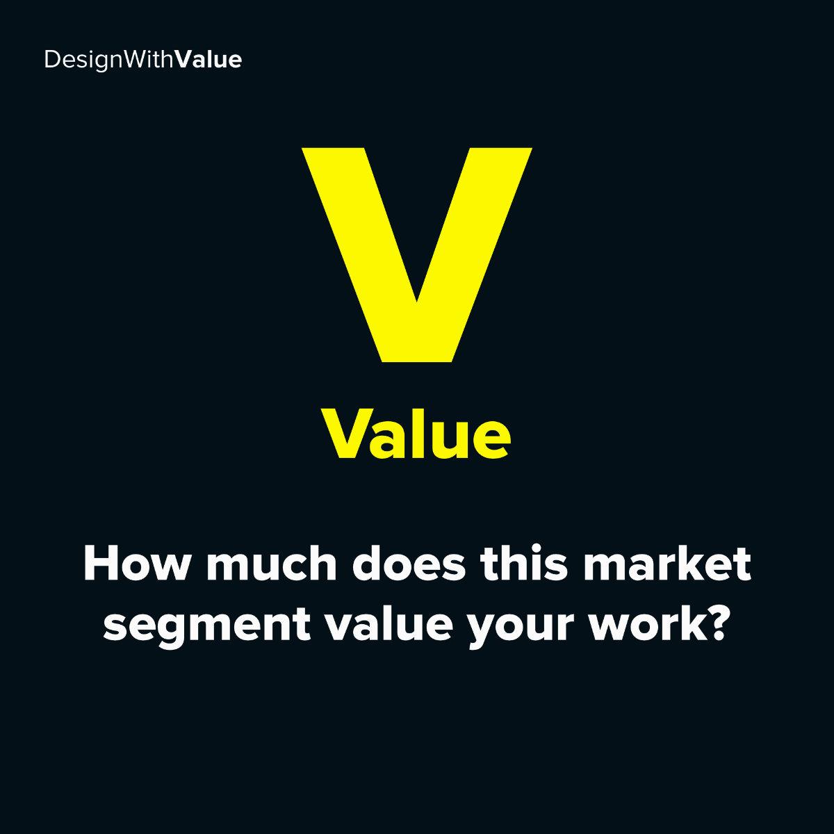 V = Value