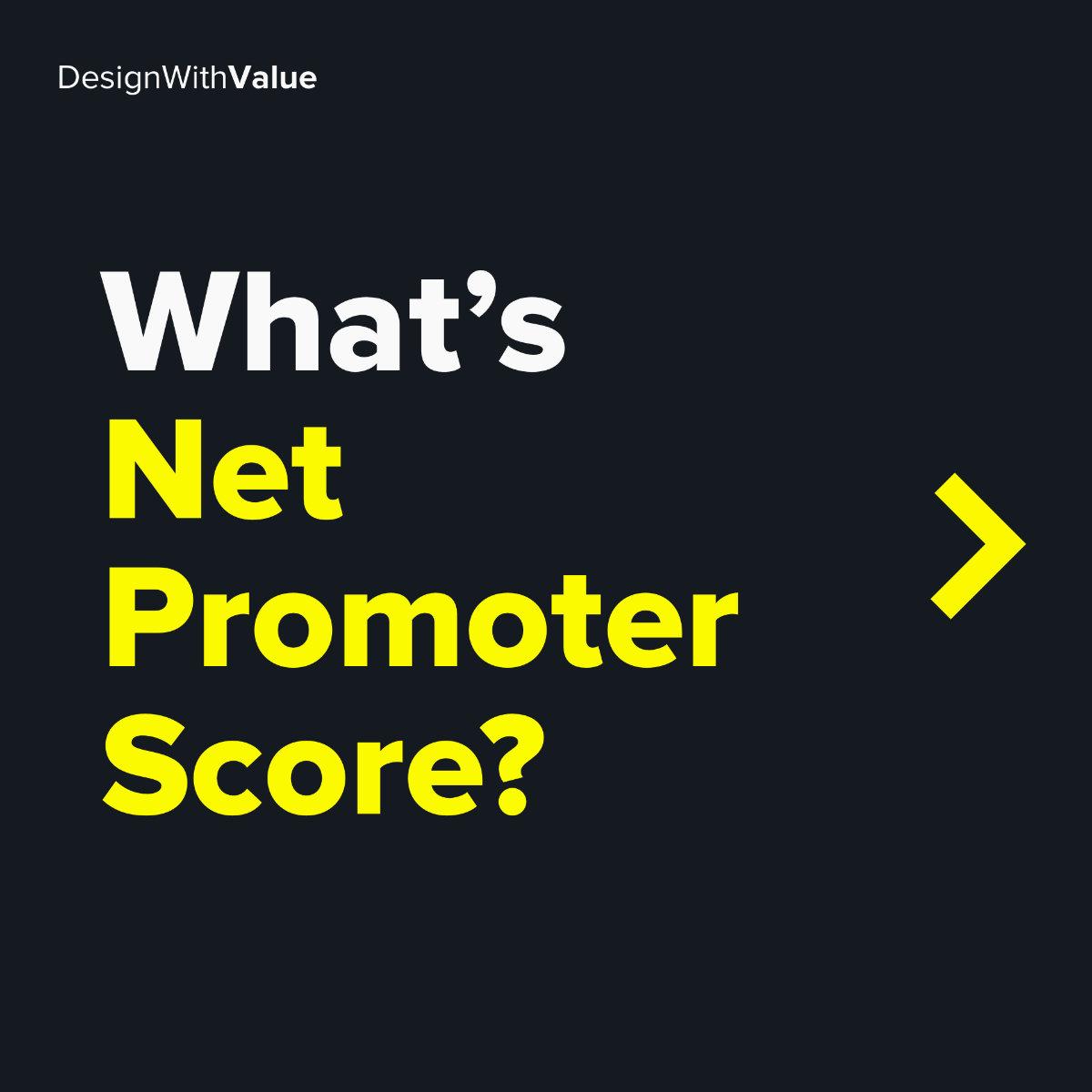 What's net promoter score?