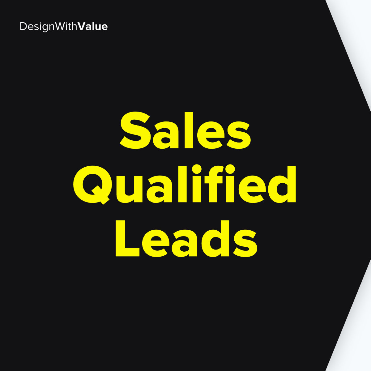 Sales qualified leads means
