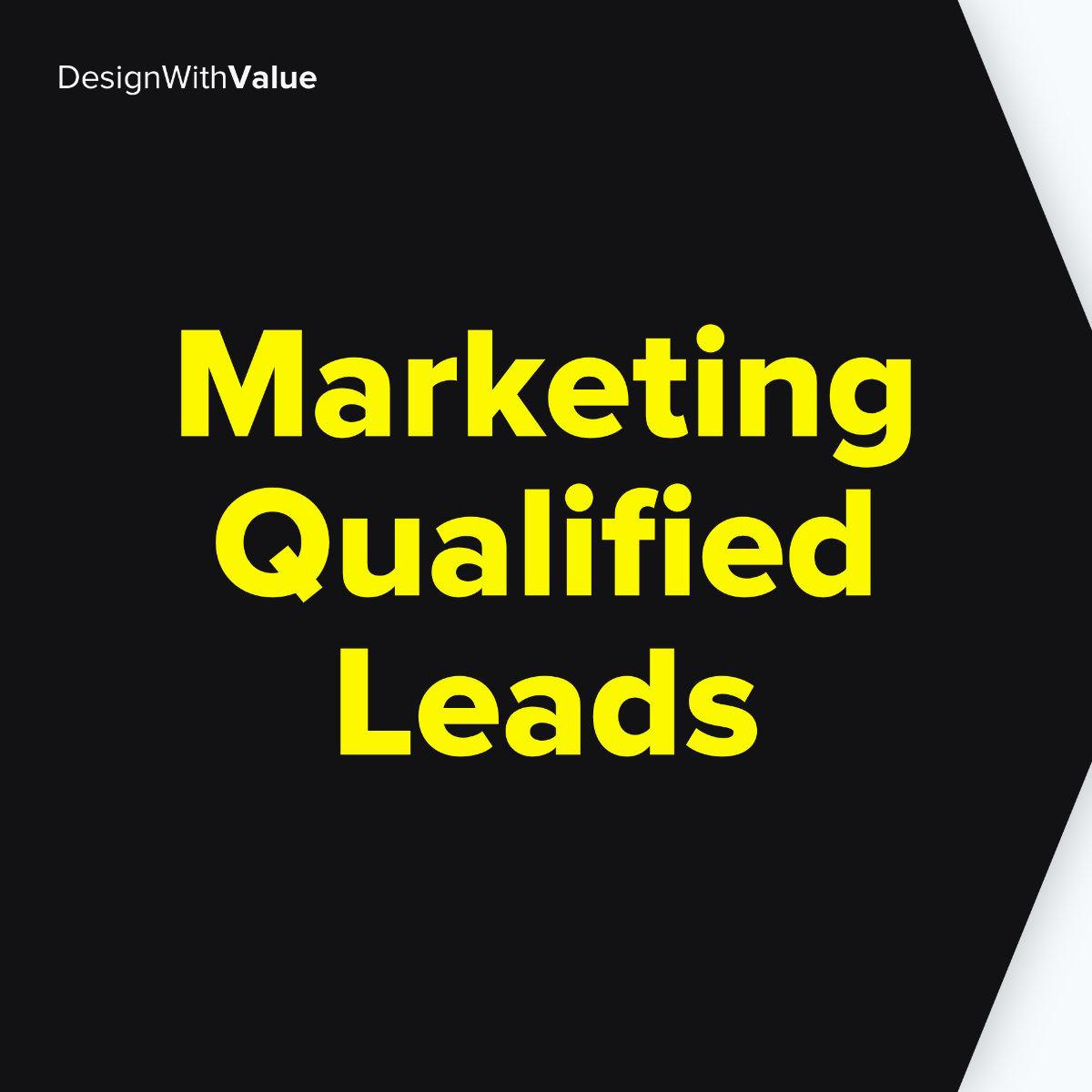 Marketing qualified leads mean