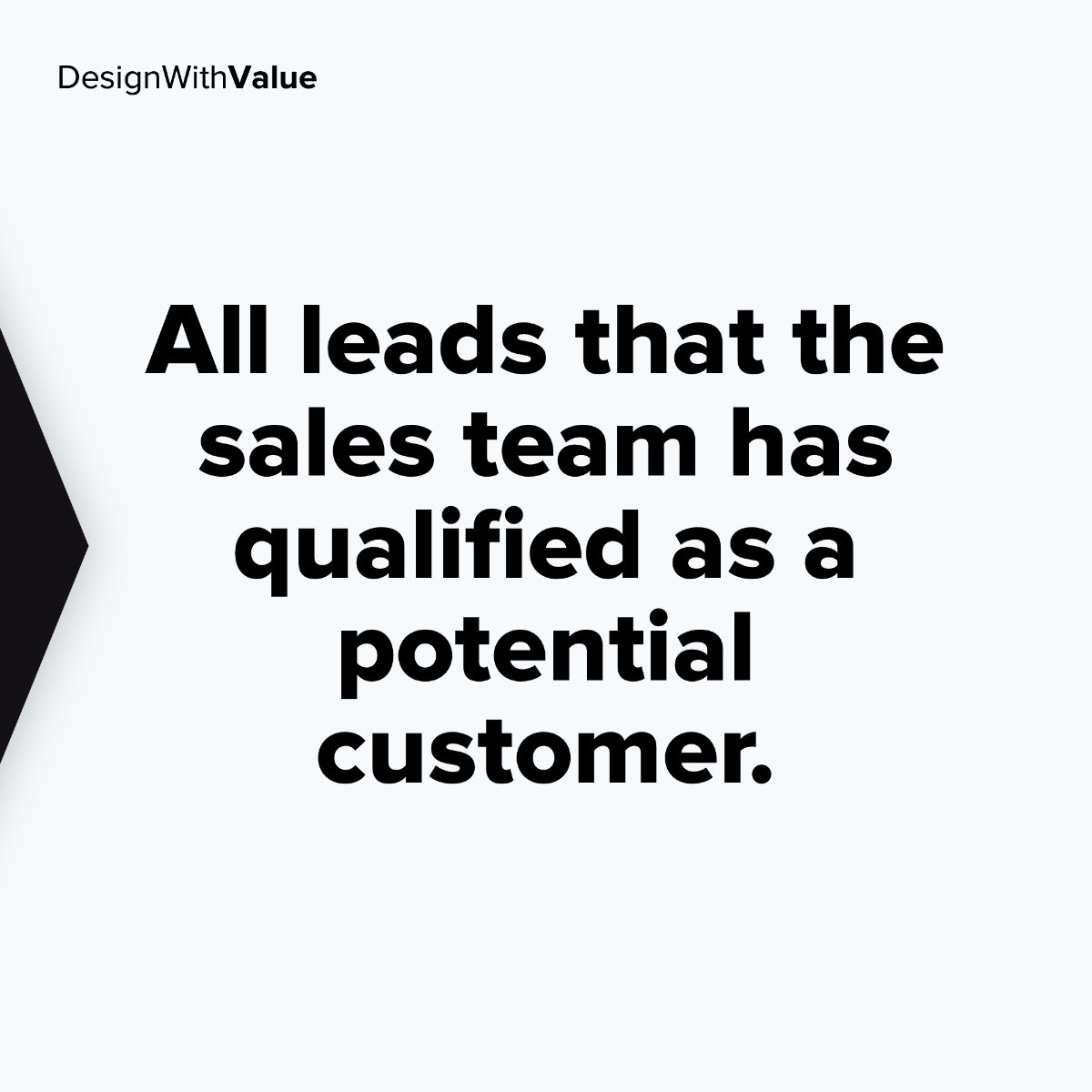 All leads that the sales team has qualified as a potential customer