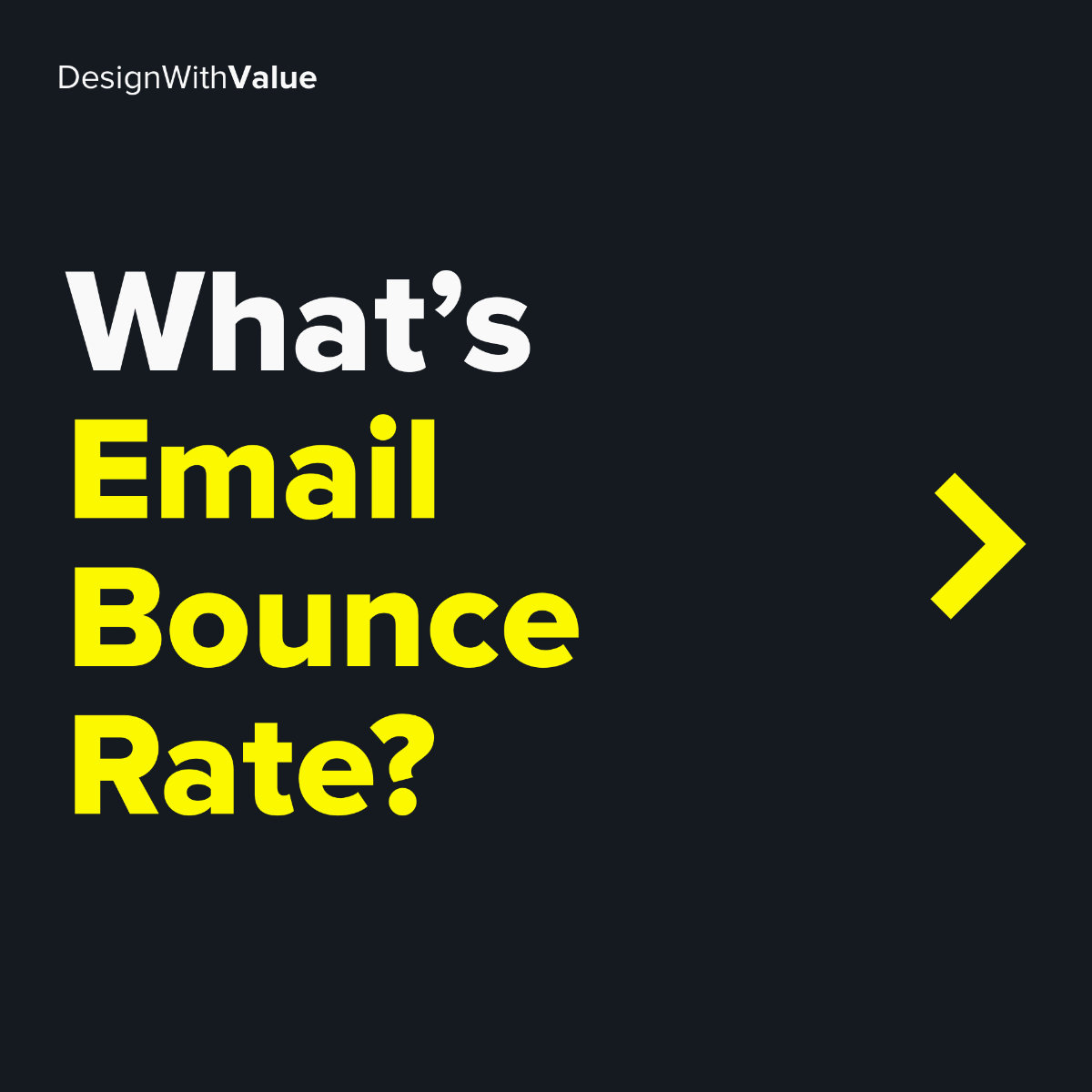 What's email bounce rate?