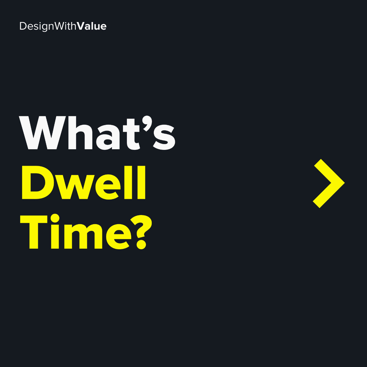 What's dwell time?