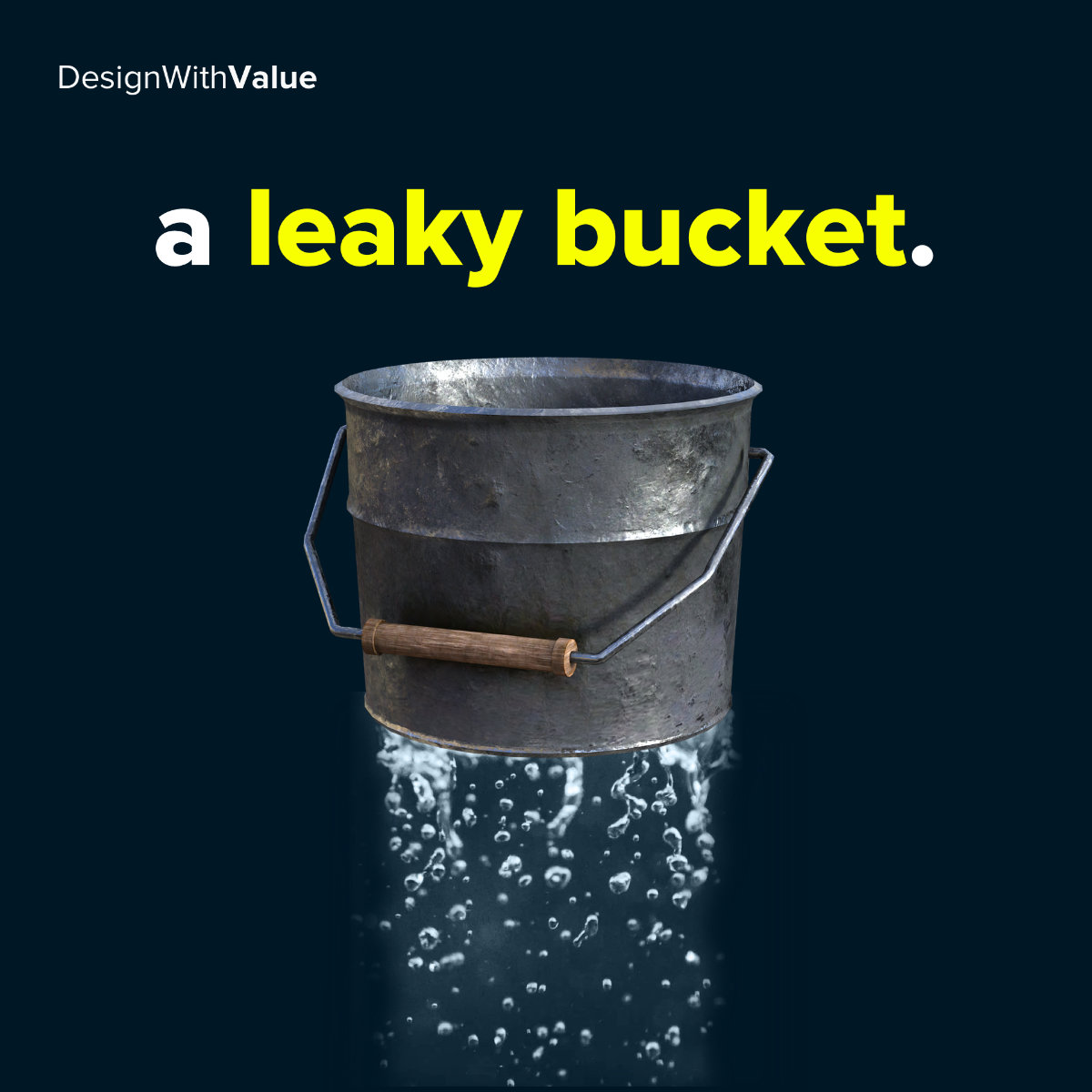 A leaky bucket