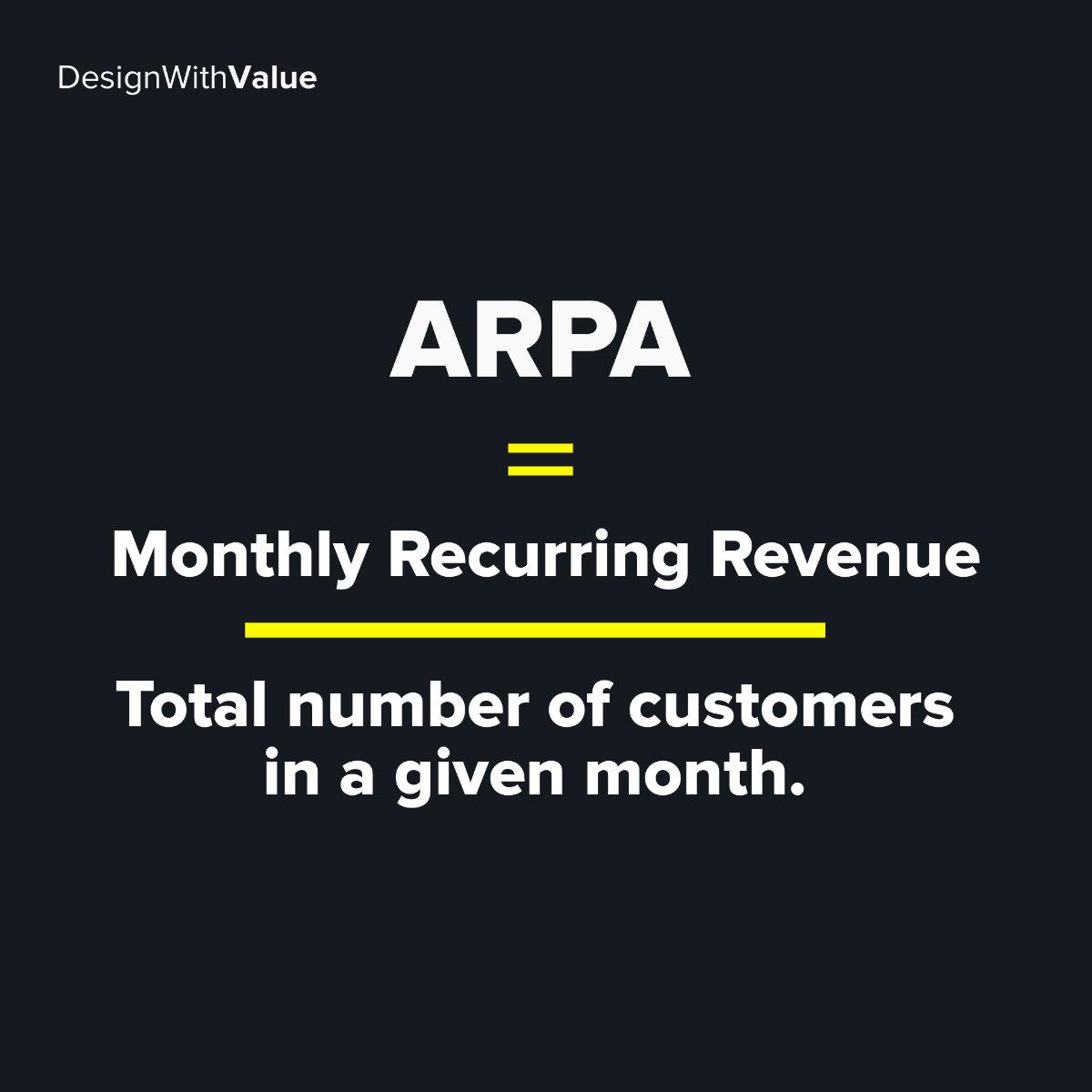 ARPA calculation