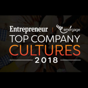 Entrepreneur Top Company Cultures 2018 logo