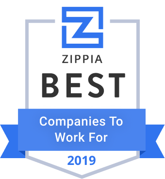 Zippa Best Companies to Work for 2019 logo