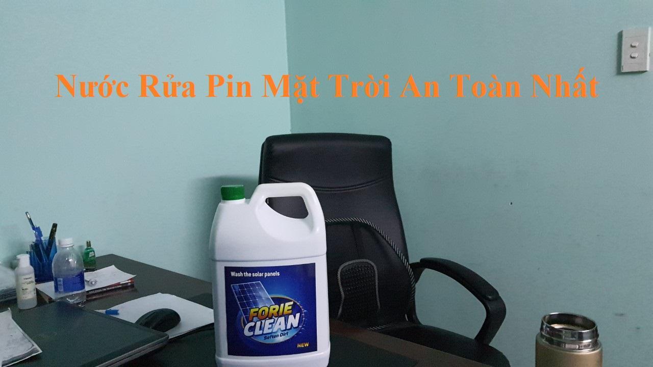 nuoc rua pin mat troi tot nhat hien nay forie clean   GPsolar