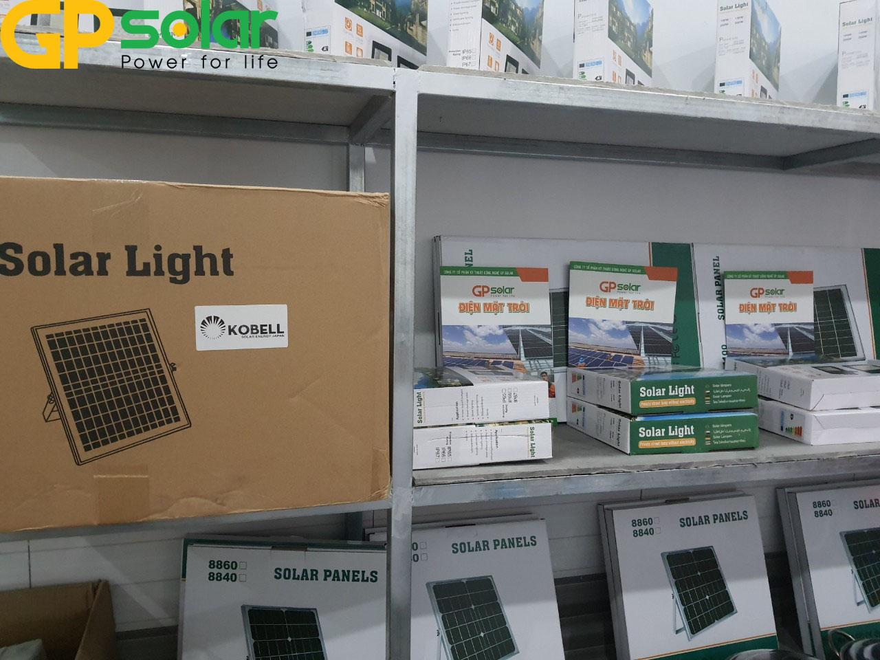 Khu trung bày đèn năng lượng mặt trời GPsolar