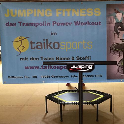 Foto eines Jumping Fitness Trampolins
