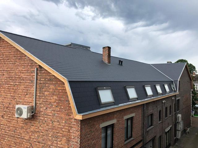 Renovatie appartementsgebouw Opitterstraat Bree