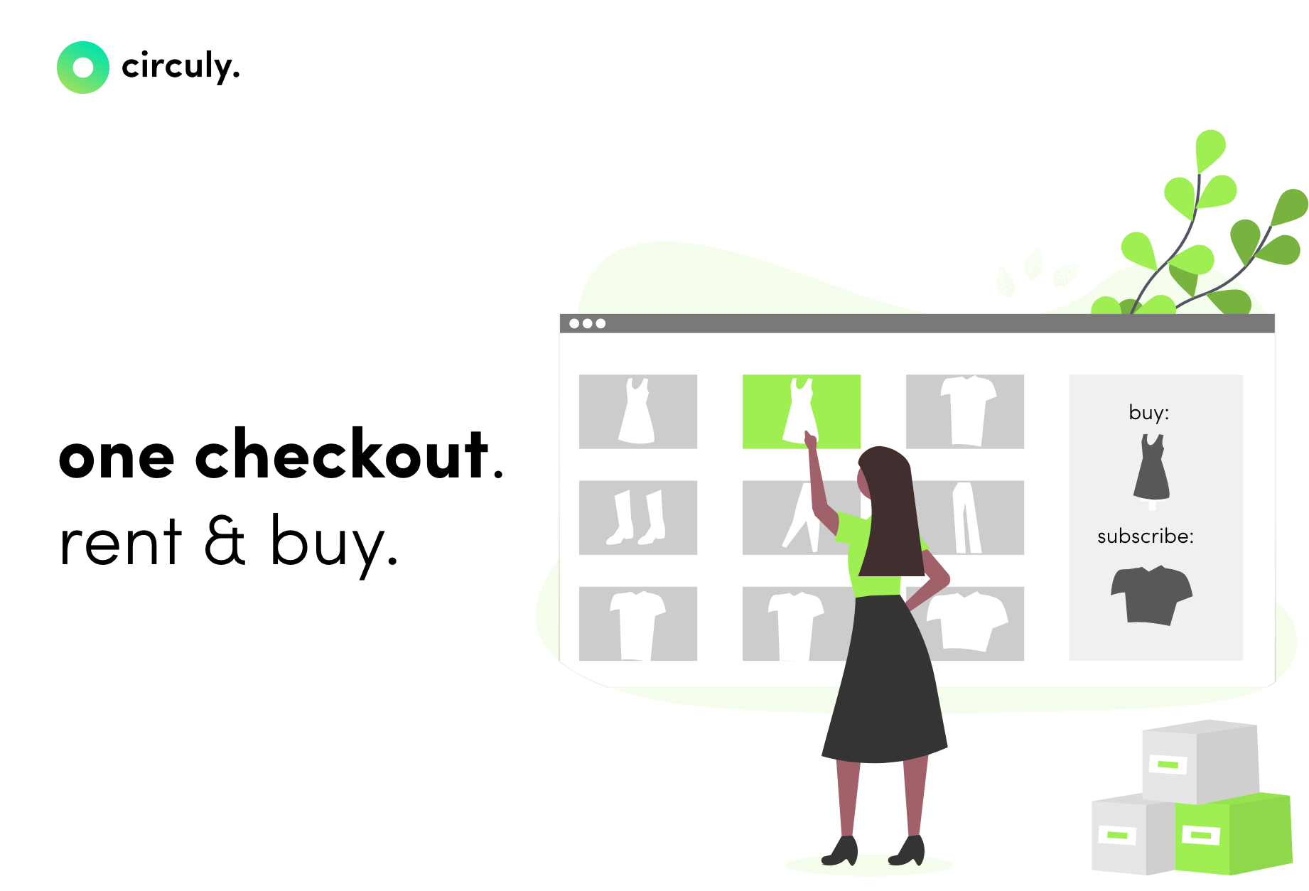 Seamless customer experience for e-commerce subscription checkout