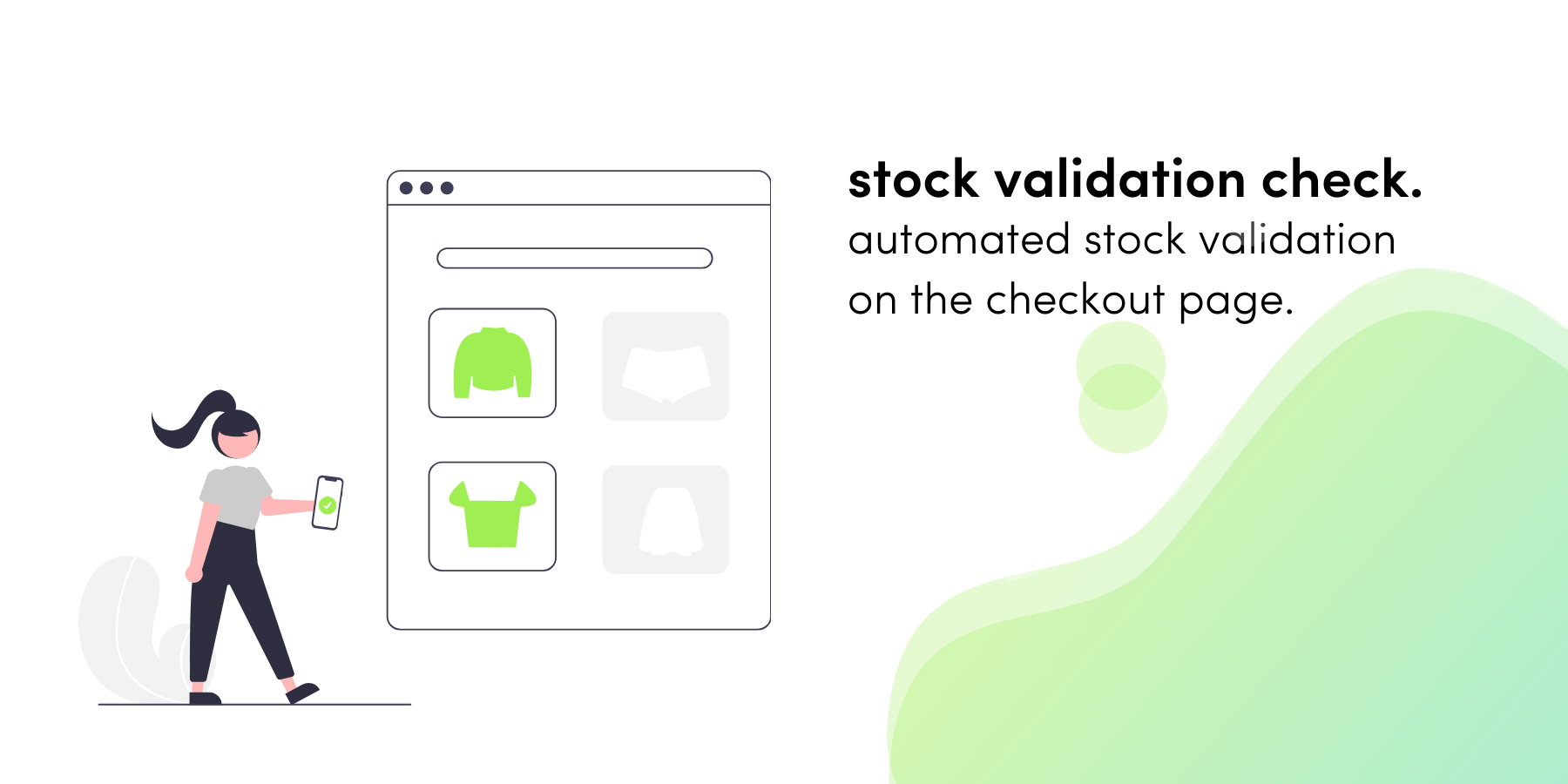 Feature Release: Stock Validation at the Checkout Page