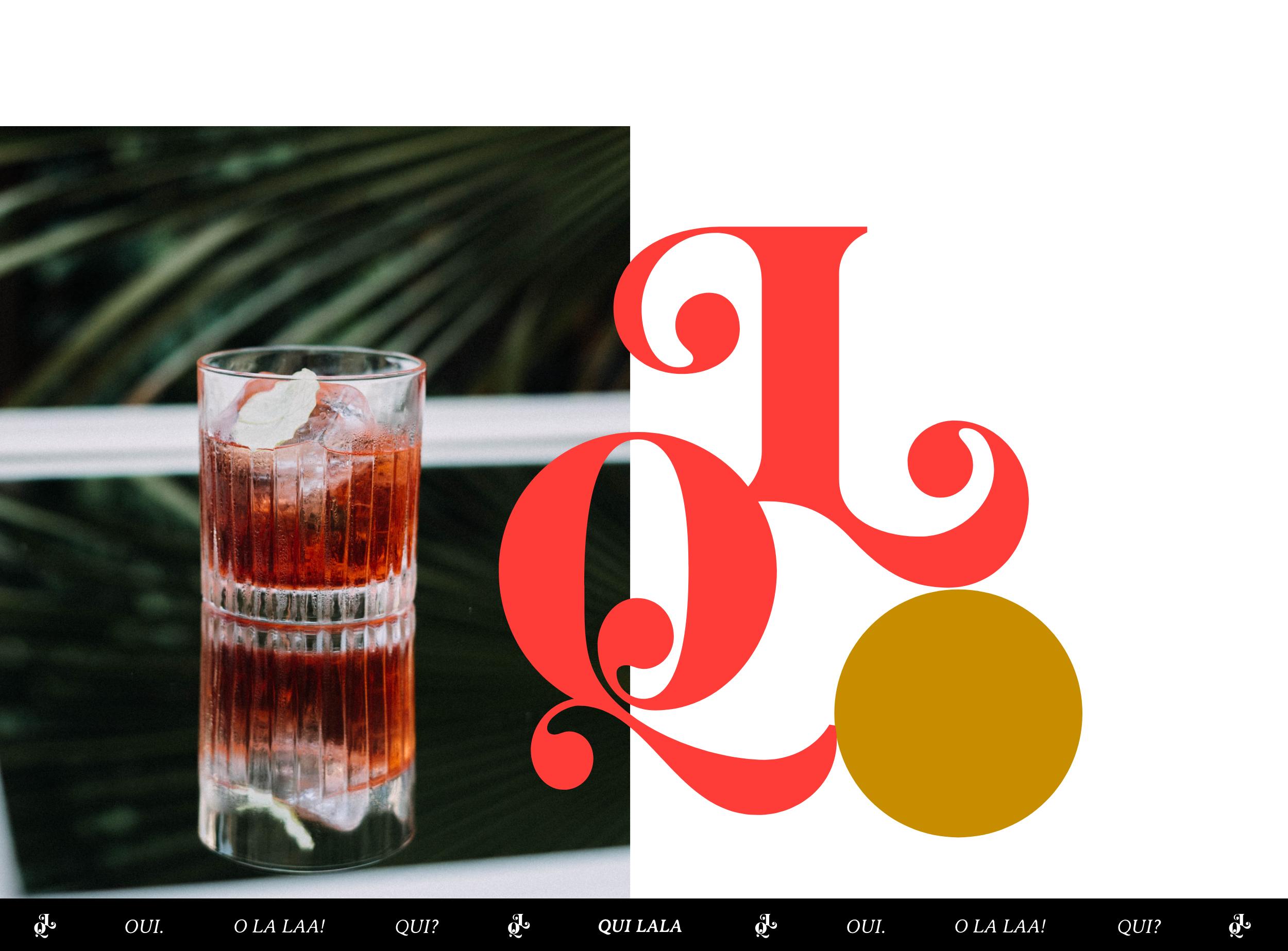 Der Drink des Hauses und das Qui Lala Monogramm