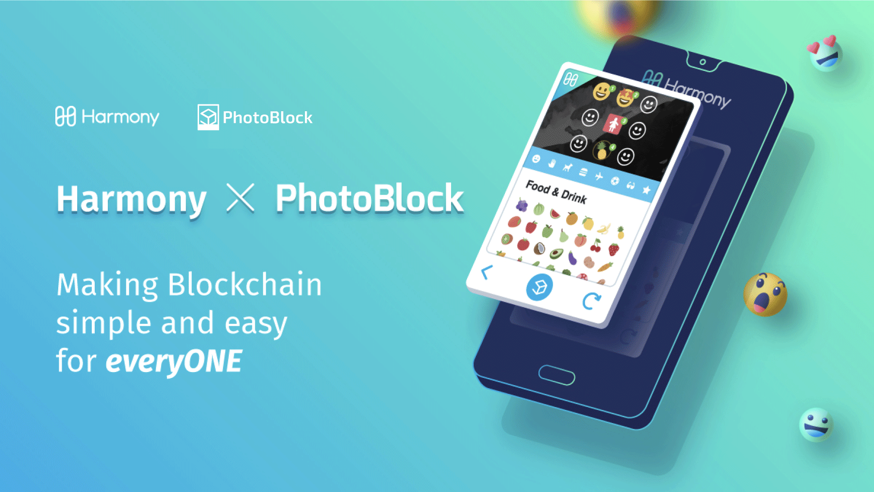 Users can now login to Harmony dapps with a photo and emojis.