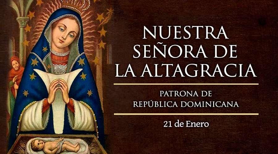 Invitación a la Misa de Nuestra Señora Altagracia