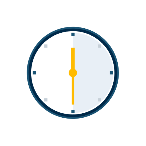 Inceptive anytime illustration - clock