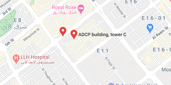 Abu Dhabi Axis WT location