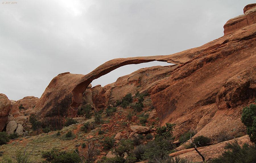 landscape rock arch