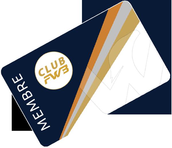 Carte membre Club FWB