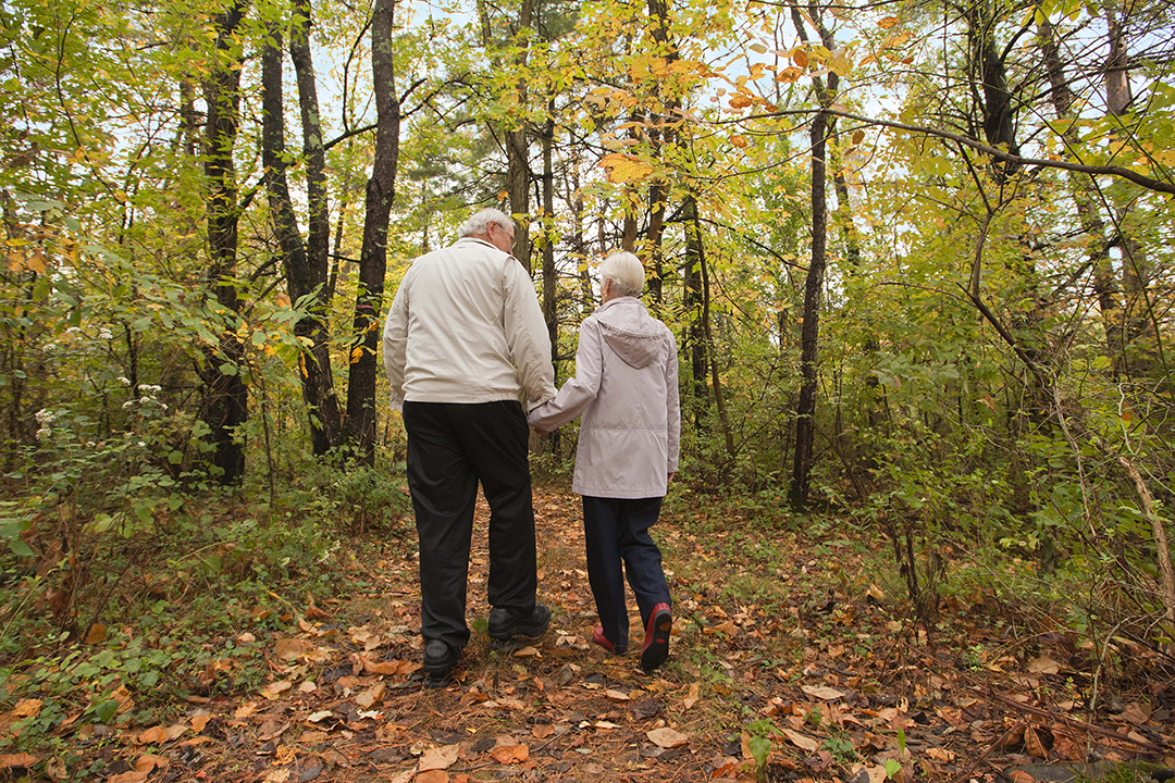 outdoor trails fitness outside couple walking