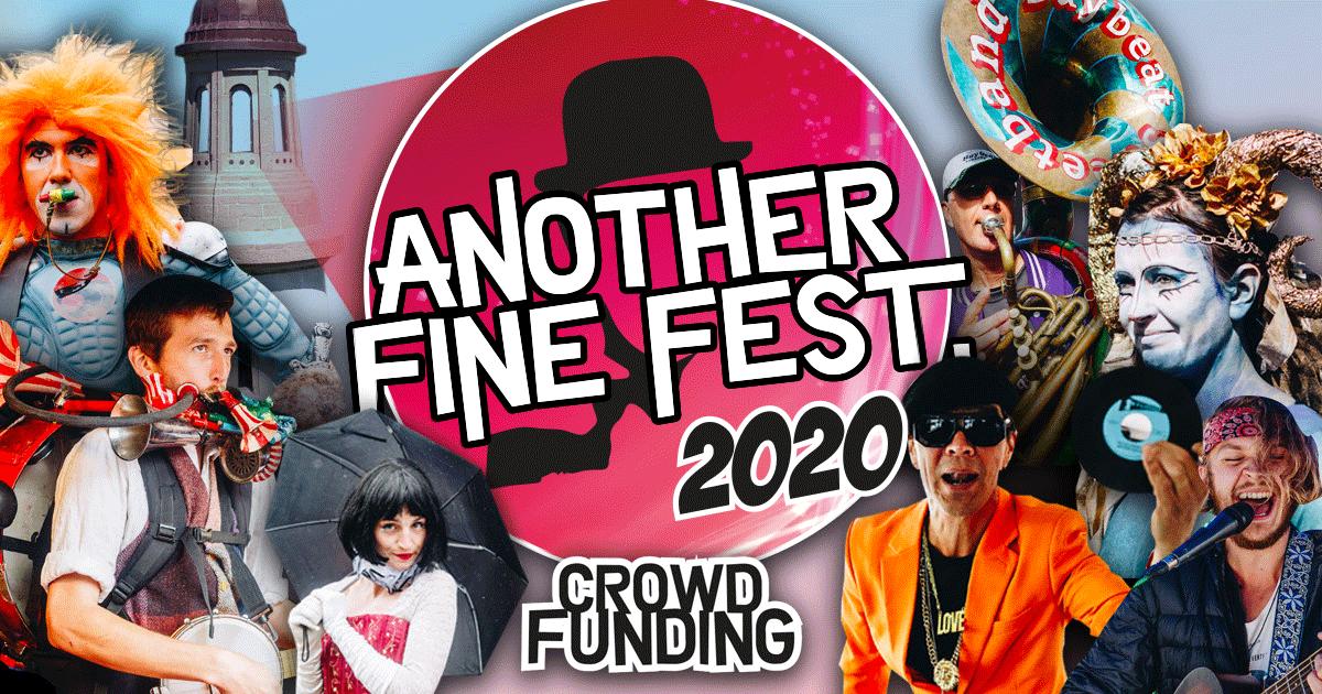 Indiegogo Another Fine Fest Crowdfunding