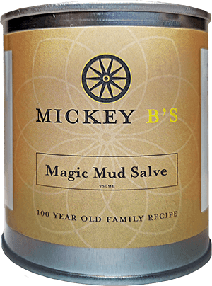 Mickey B's Magic Mud Salve