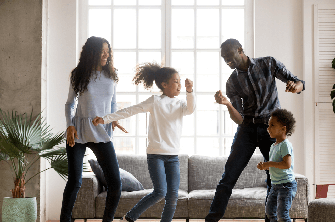Record your child's dance moves