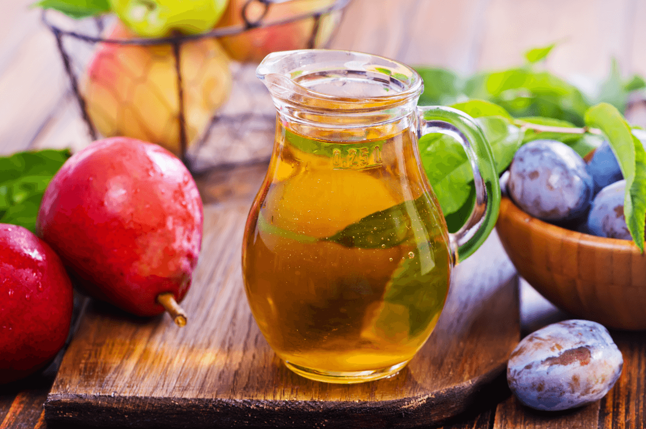 Certain juices (prune, apple, pear) can help increase the water content and frequency of bowel movements