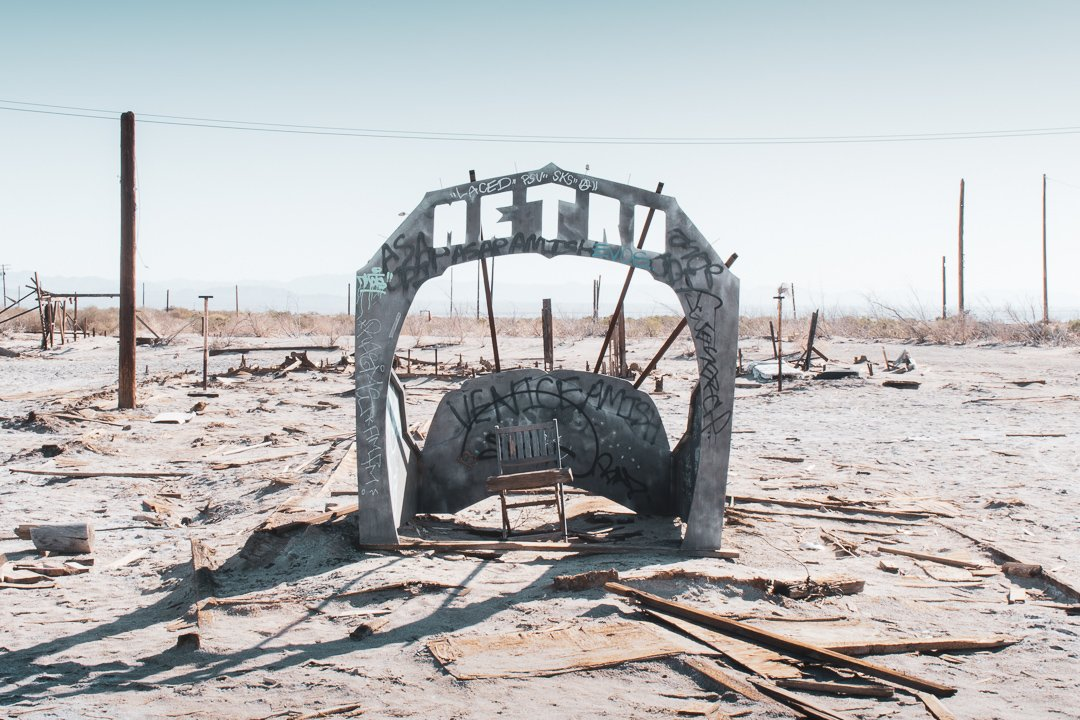 Bombay Quick California - A mysterious town by the Salton Sea.