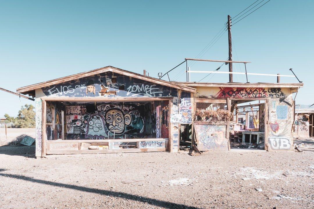 Bombay Beach California Abandoned House