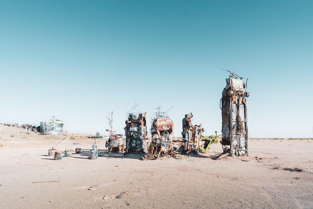 Slab City Car Sculpture California