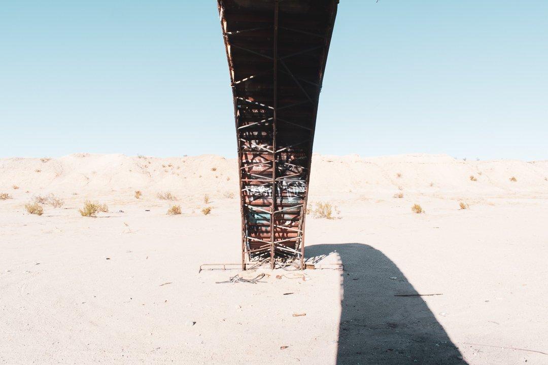 Slab City Bridge Sculpture