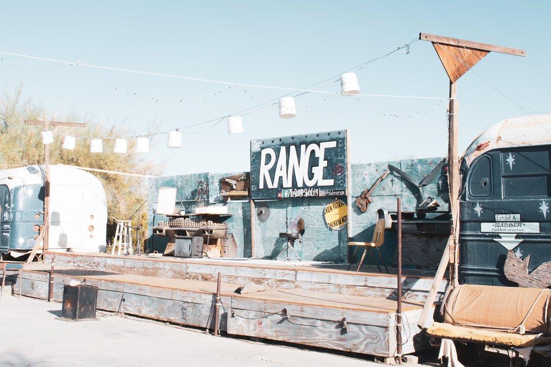 The Range in Slab City California