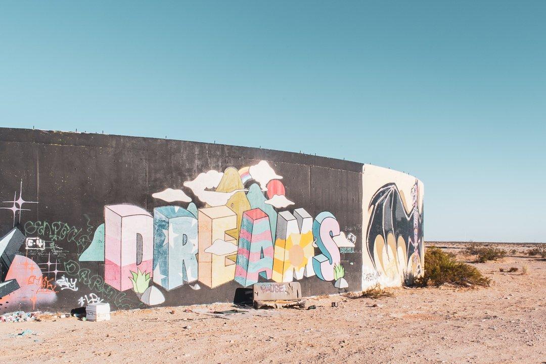 Dreams in Slab City California