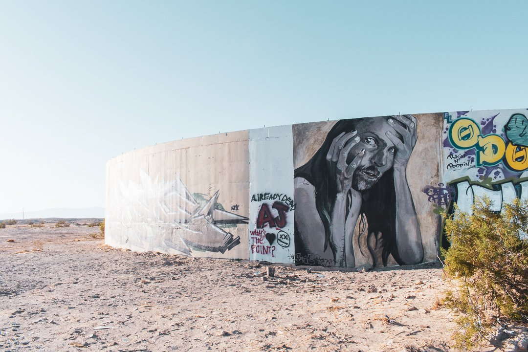 The Colosseum in Slab City California