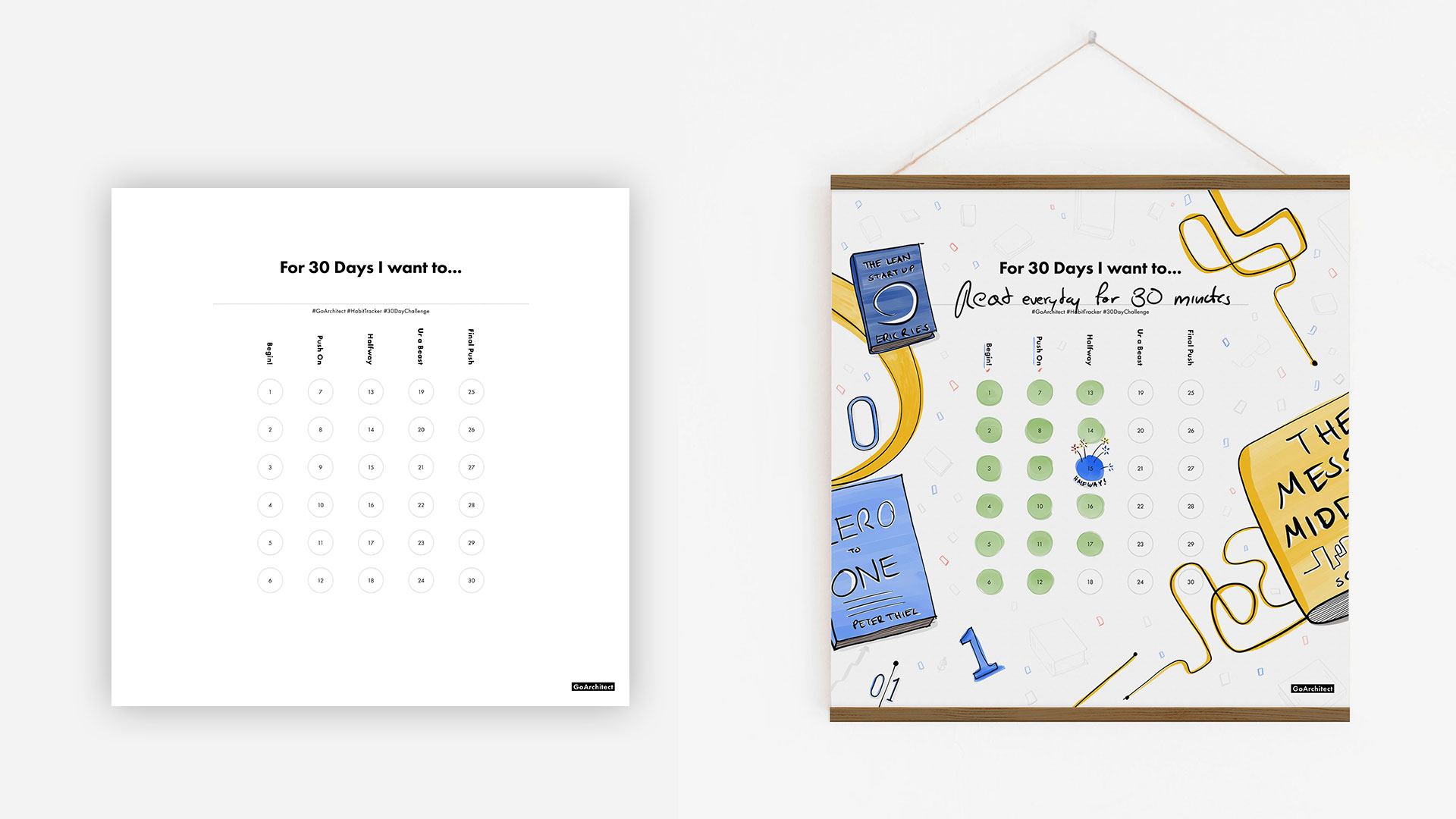 Habit Tracker Poster