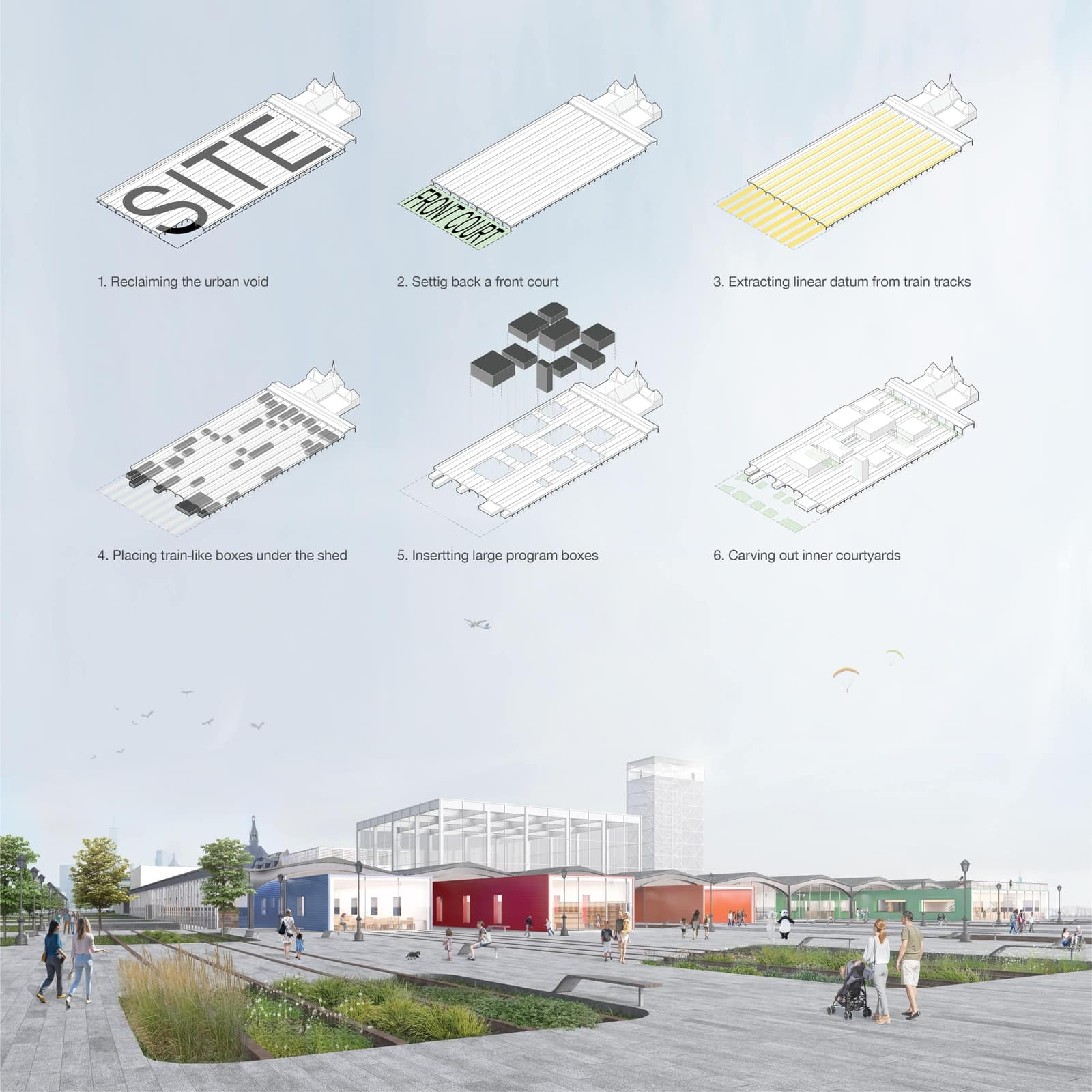 How a group of Columbia GSAPP students designed the future of a New Jersey train station