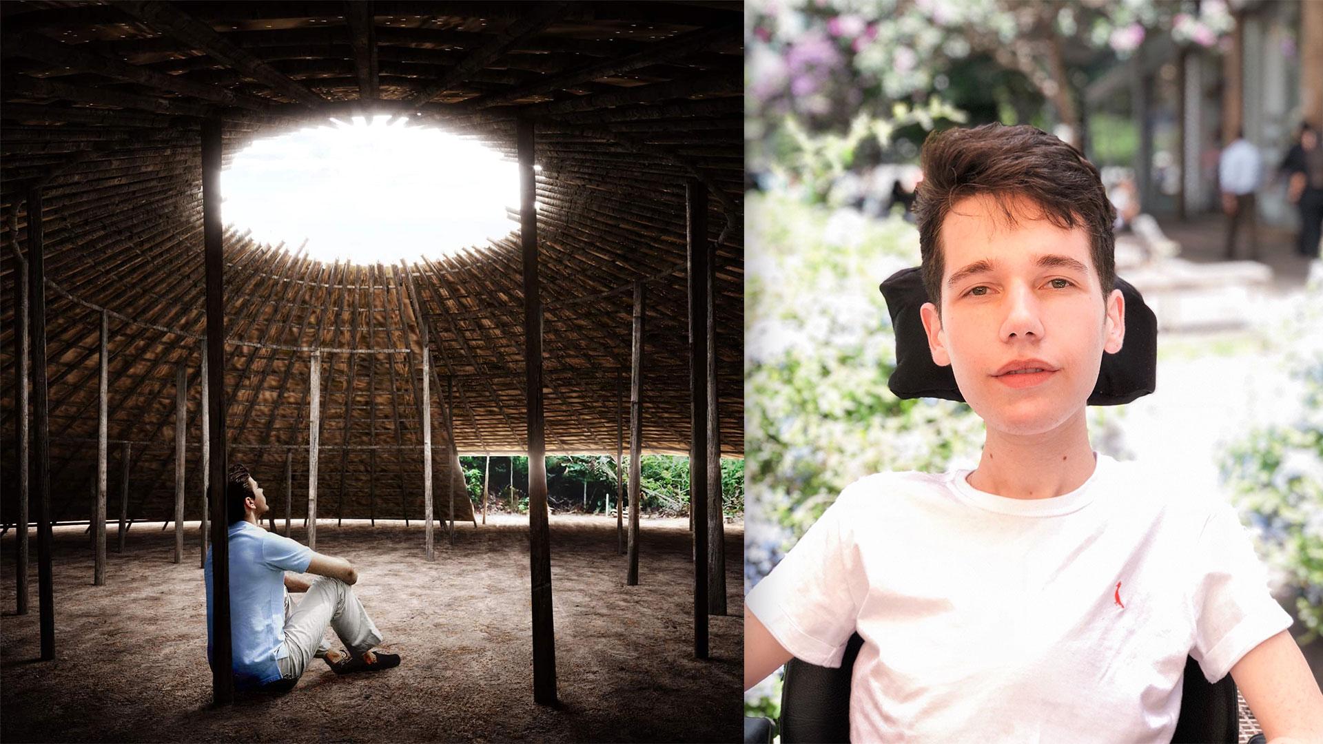 Brazilian architecture student designs native values into a new Covid-19 memorial.