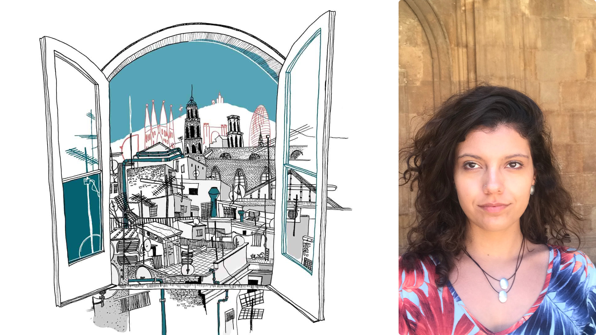 """I want to dedicate myself more and more to tell the stories of cities,"" says Bruna Cardoso Silva"