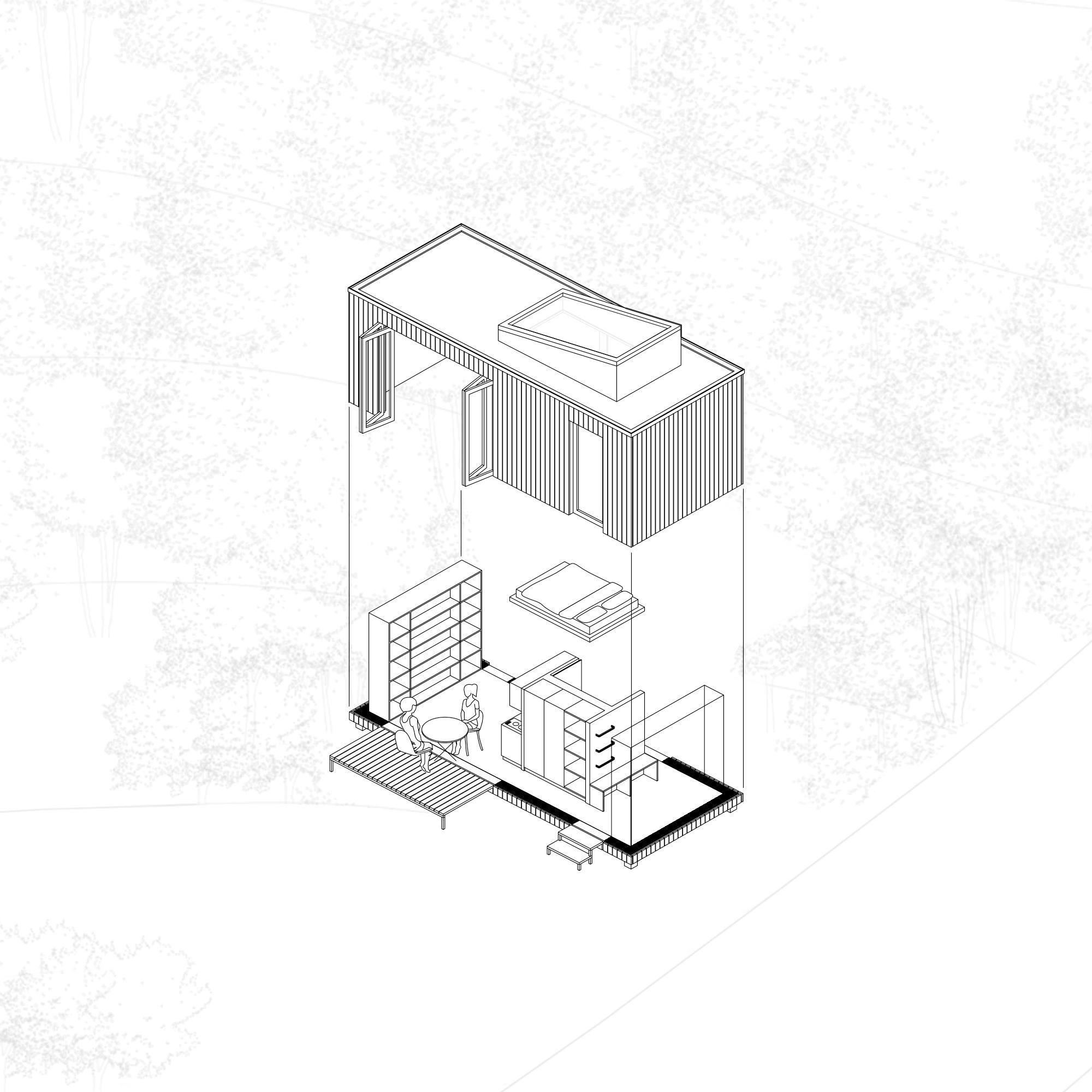 Wooden Shelter, Simon Waschto, & Leonard Schwab
