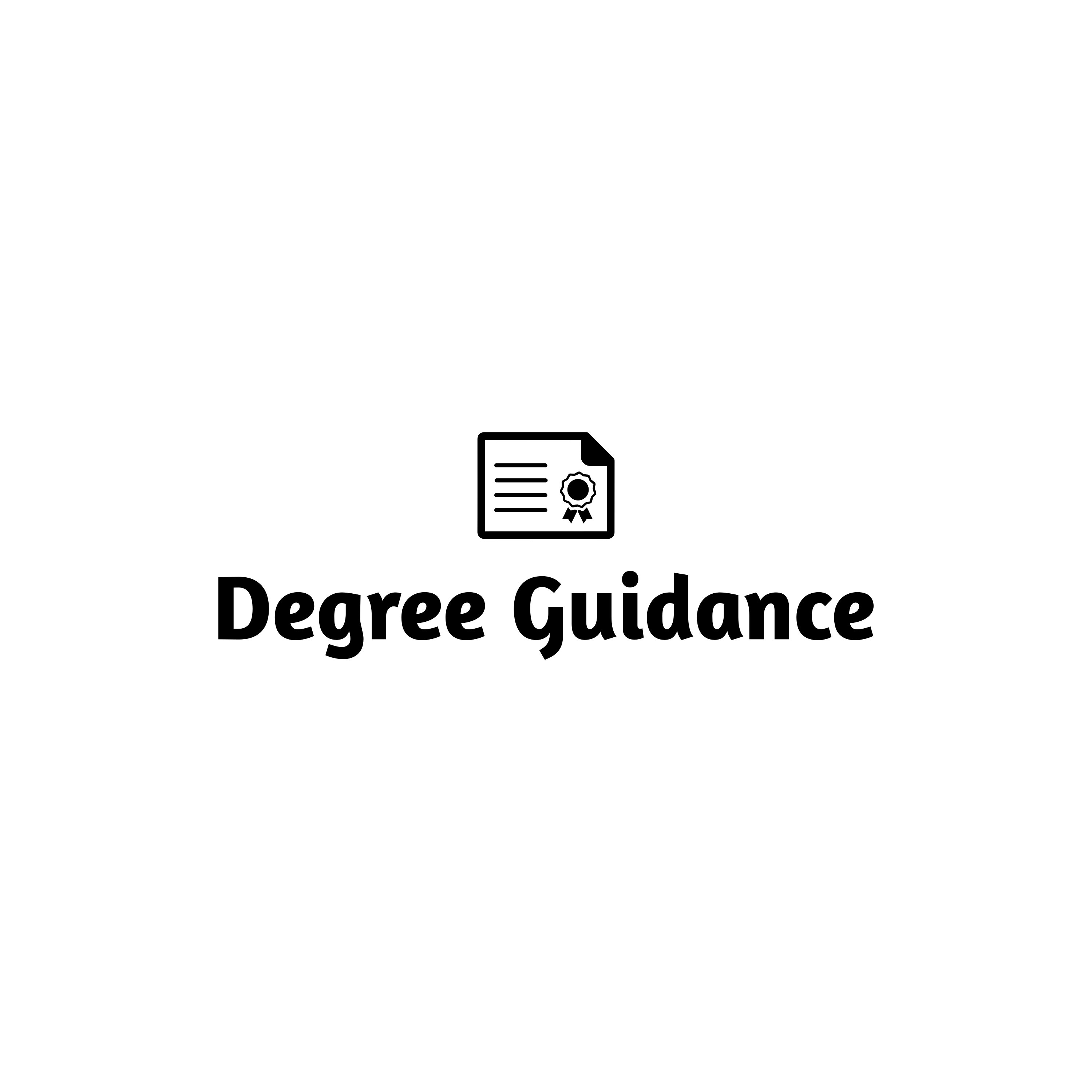 Degree Guidance