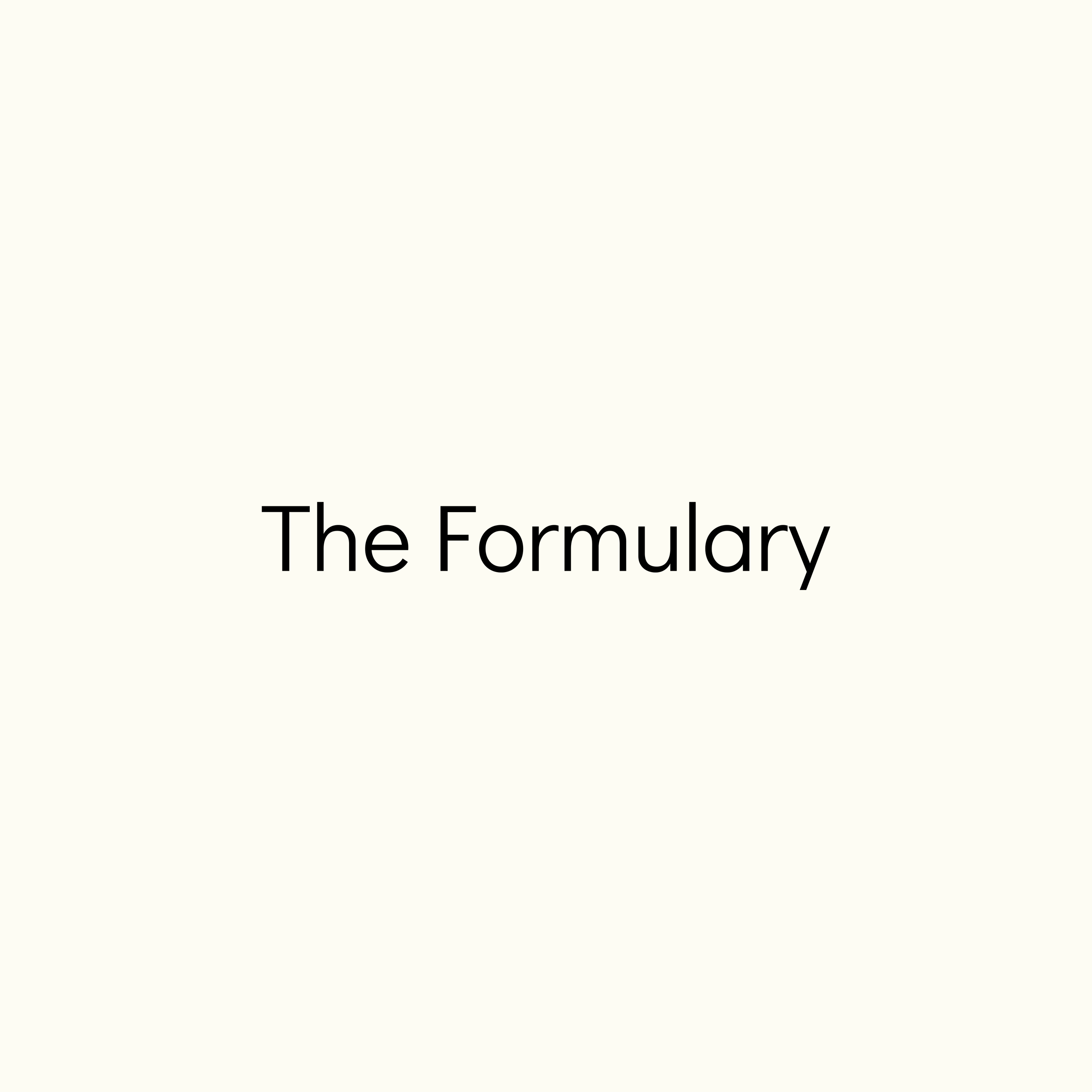The Formulary