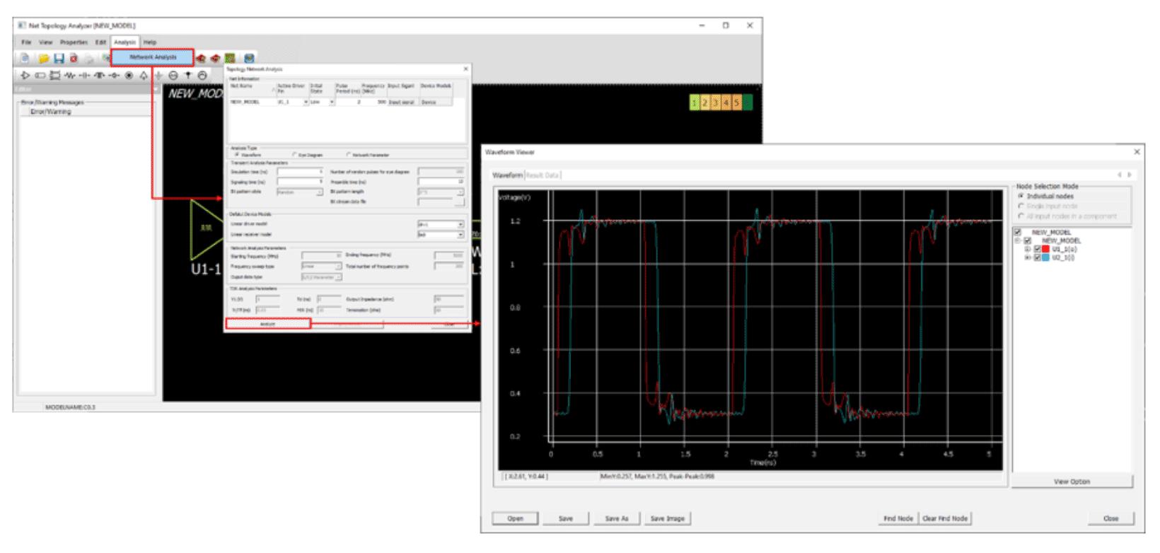 Altair Pollex Анализ целостности сигналов (анализ формы сигнала)