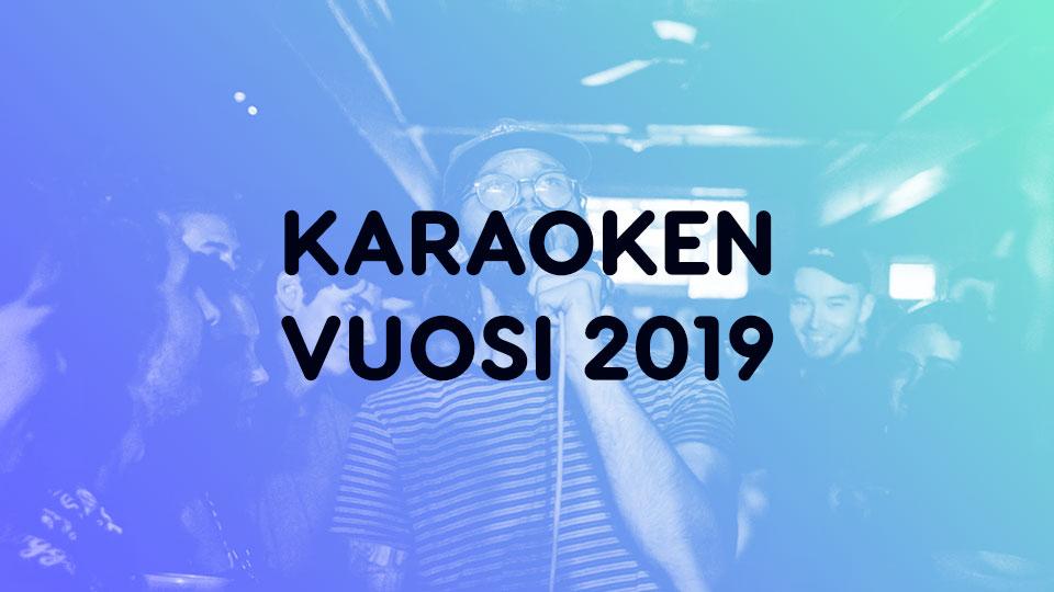 Mitä suomalaiset lauloivat karaokessa vuonna 2019